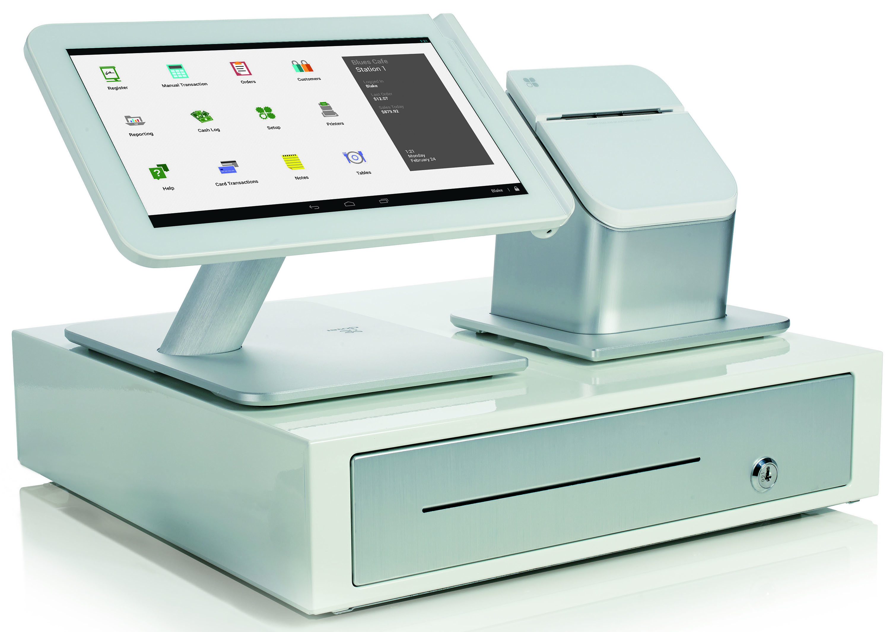 Clover Station Pos System And Cash Register 1quest Payment