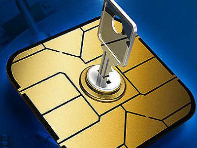EMV Chip with Security Key