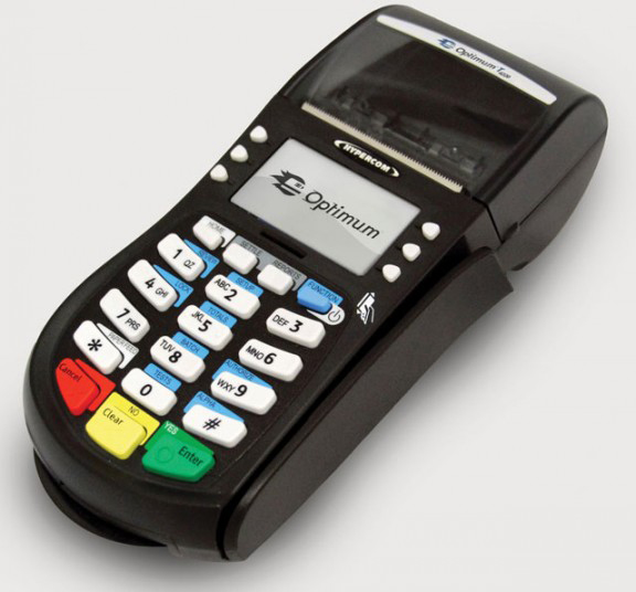 Hypercom Optimum T4220 Credit Card Machine