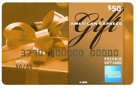 Image of 50 Dollar AMEX Gift Card