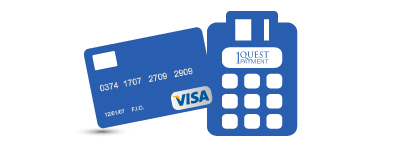 Merchant Terminal System and Visa Credit Card